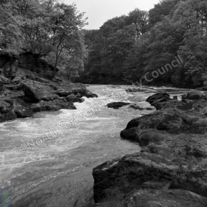 River Wharfe above The Strid